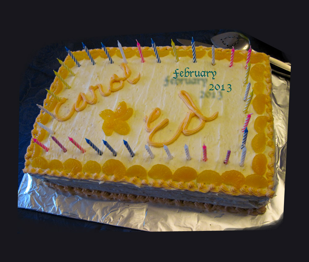 A Birthday Party For Carol And Ed